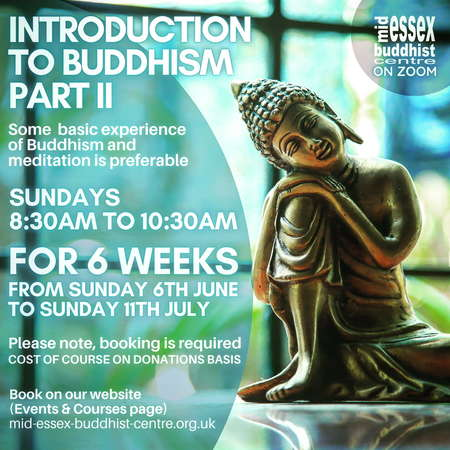 Introduction to Buddhism Part II